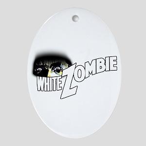 White Zombie [1932 Film] Oval Ornament
